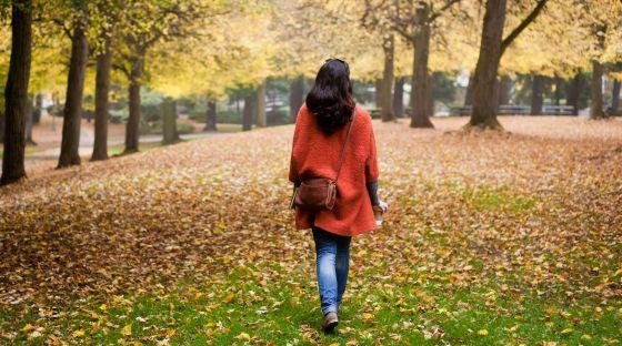 Ponerse triste en otoño